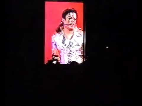 Michael Jackson   Live in Prague 09 07 1996   Amateur New VHS Rip