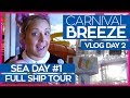 Carnival Breeze Ship Tour | The Ultimate Guide to the Carnival Breeze | Cruise Vlog Day 02