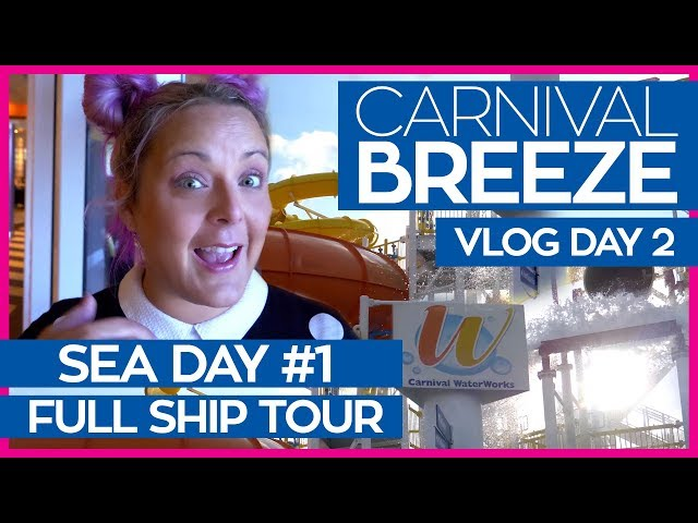 The Ultimate Guide to the Carnival Breeze | Carnival Breeze Cruise Vlog Day 02