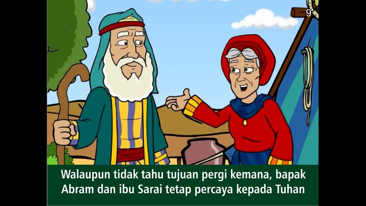 Abram Dipanggil Allah Slide Film Animasi Sekolah Minggu Alkitab Anak Kristen Untuk Natal Paskah Youtube
