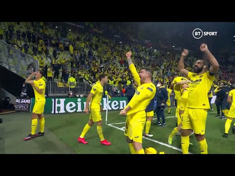 Full time SCENES as Villarreal win their FIRST-EVER trophy! 2020/21 Europa League winners!