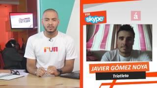 Jorge Chaljub entrevista al triatleta español Javier Gomez Noya