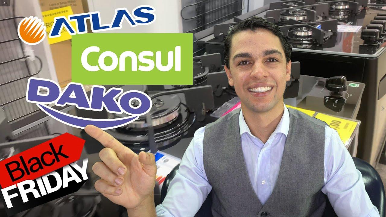 COMO ESCOLHER O MELHOR FOGÃO MESA DE VIDRO - ATLAS,DAKO OU CONSUL? BLACK FRIDAY 2020!