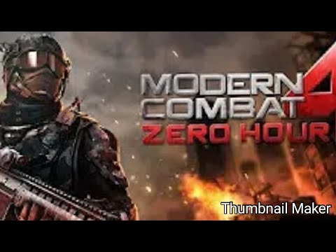 How To Dowload Modern Combat 4 Zero Hour Remastered Free On Any Phone