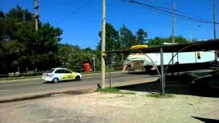 Camiones Con Carga Sobre Dimensionada Por Ruta Nacional Nº 8