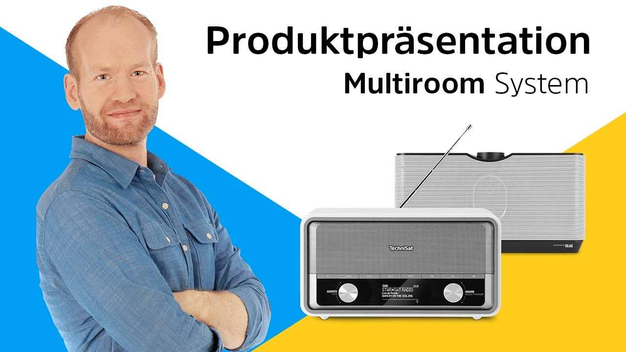 Video: TechniSat Multiroom-System | Ihre Lieblingsmusik in allen Räumen. | TechniSat