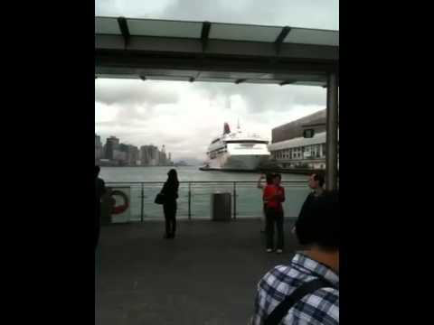 Harbourside Kowloon side