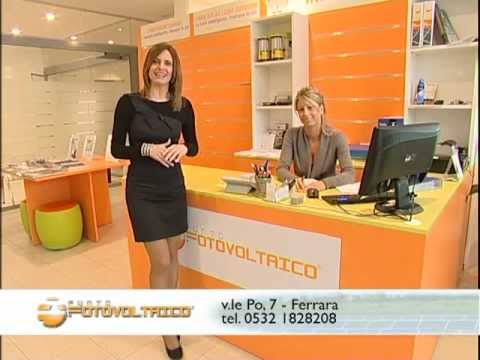 SPOT TELEVISIVO PUNTO FOTOVOLTAICO FERRARA