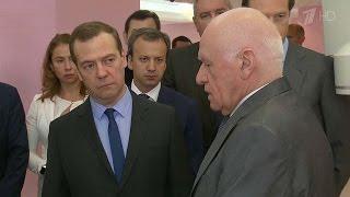 Премьер Дмитрий Медведев: нужно мотивировать врачей выбирать отечественные лекарства и материалы.(, 2016-07-10T19:04:19.000Z)