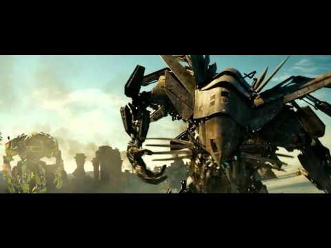 Transformers: La venganza de los caídos (2009) Optimus Prime vs Fallen y Megatron (HD latino)