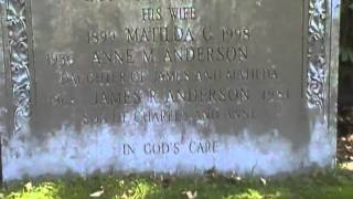 Jimmy Anderson - grave - Woburn