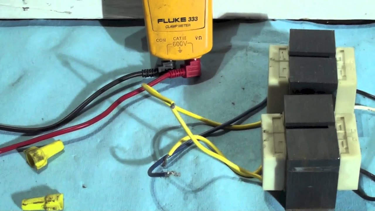 How to phase 2 HVAC transformers