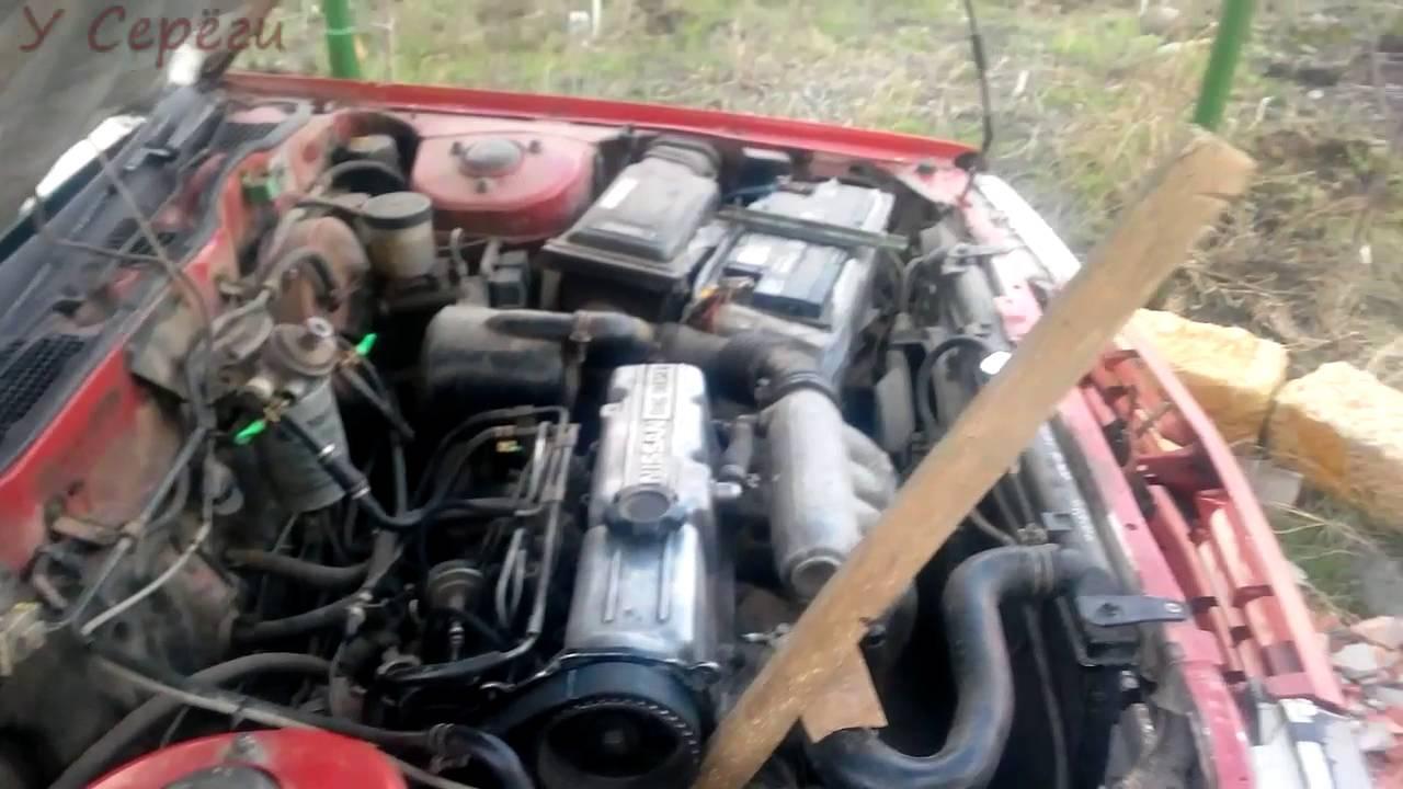 установка зажигания на двигателе ld 20 дизель nissan bluebird