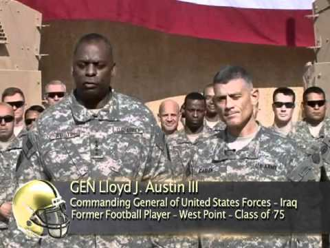 """2011 Army/Navy Spirit Videos - """"Hit 'em so Hard, I Want Their Families to Feel It"""""""