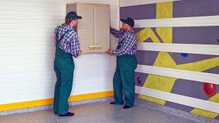 Шкафы для гаража. Гаражные шкафы настенные. Профессиональное обустройство гаража под ключ (видео)(http://garagetek.ru/ Шкаф в гараж – вещь, необходимая каждому. В процессе выбора гаражных шкафов необходимо учитыва..., 2016-02-17T07:18:09.000Z)