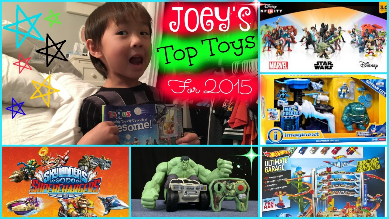 joeys favorite and top toys for 2015 including christmas wish list xy adventurez youtube - Top Toys 2015 Christmas