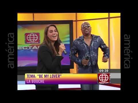 """La Bouche - Be My Lover (Live on """"America Noticias Primera Edicion"""", Peru) (January 2016)"""