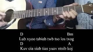 Lub xyoo tshiab Play Guitar Chords - ICU