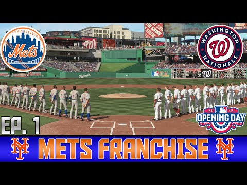 Mets Franchise Ep.1 Opening Day Vs. Nationals | MLB 15 The Show