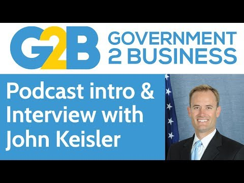 Government to Business #1: Intro & interview with John Keisler from Long Beach