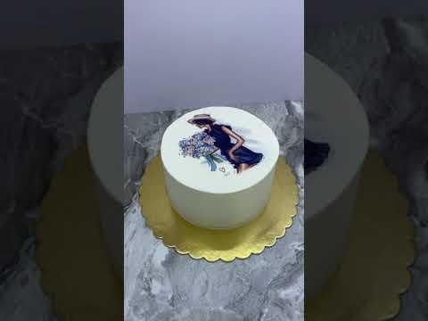 Бесплатный декор прямой печатью на торте