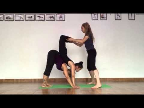 hand balance and scorpion practice very easy our