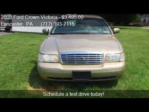 2000 Ford Crown Victoria Lx 4dr Sedan For Sale In Lancaster Youtube