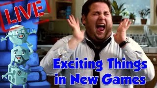 Top 10 Things That Excite Us About New Games