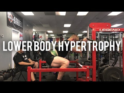 Powering Up Muscle Hypertrophy Using the Squat, Deadlift and The Bench Press