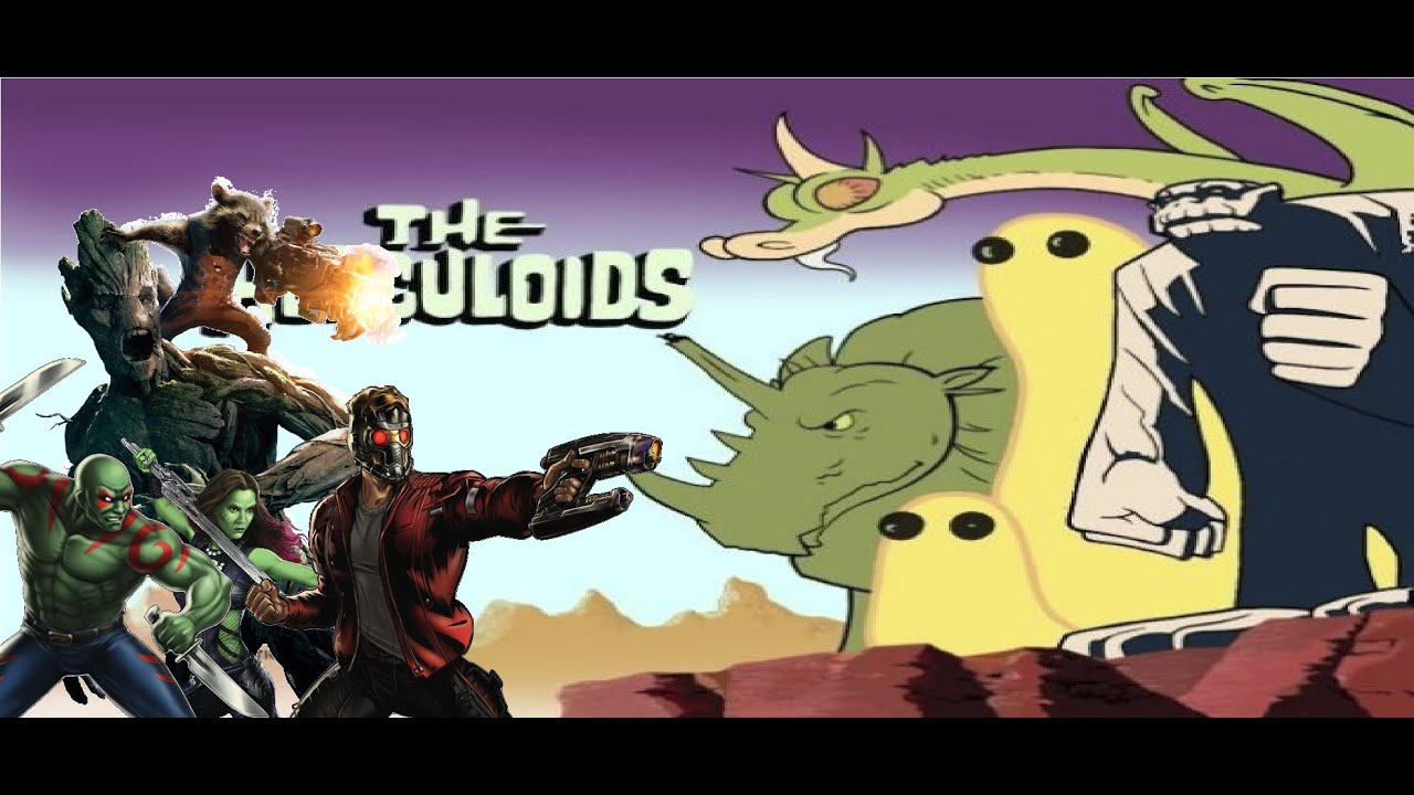 next time on cartoon fight club  the herculoids vs guardians of the galaxy  fan made
