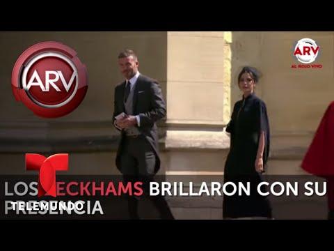Los Beckhams, George y Amal Clooney y muchos más invitados llegaron a la boda real | Al Rojo Vivo
