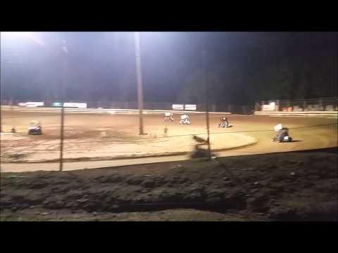 Southern Illinois Raceway, 9/12/15, A Class heat race