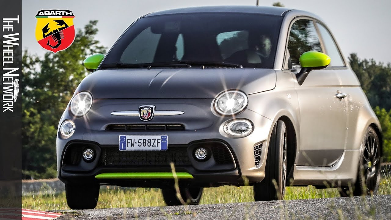 2020 Abarth 595 Pista Drving Interior Exterior
