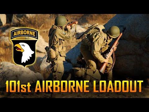 101ST AIRBORNE PARATROOPER WORLD WAR 2 LOADOUT | SPARTAN117GW