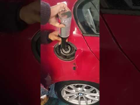 BMW 118d DPF clean diesel particulate filter