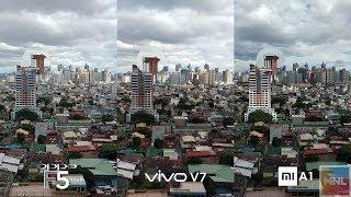 OPPO F5 Youth vs Vivo V7, Xiaomi Mi A1 3 Way Camera Comparison