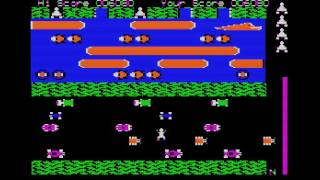 Frogger (APPLEII) - Vizzed.com GamePlay