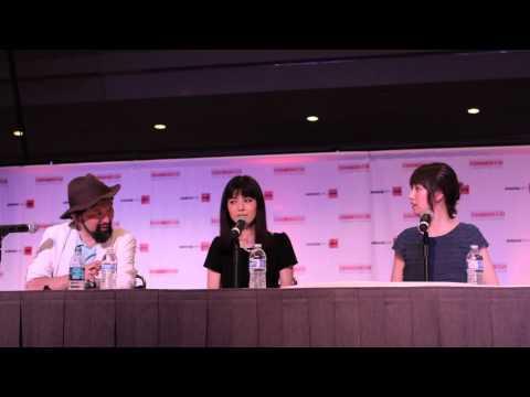 Ami Koshimizu and Ryoka Yuzuki  Panel