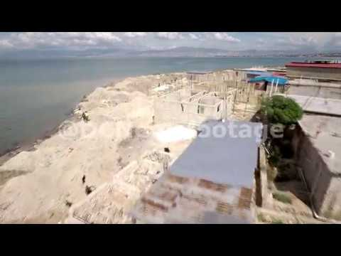 Aerial footage of Port-au-Prince, Haiti