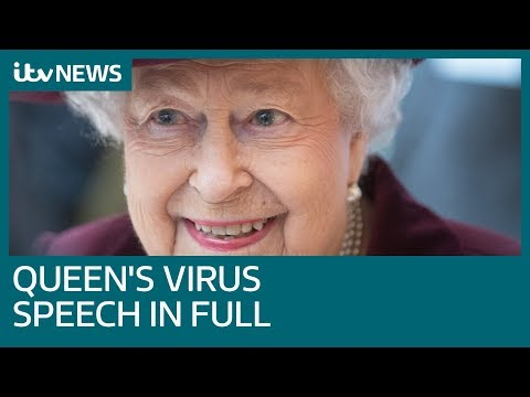 In Full: Queen Speaks About Coronavirus Crisis In Rare National Televised Address | ITV News