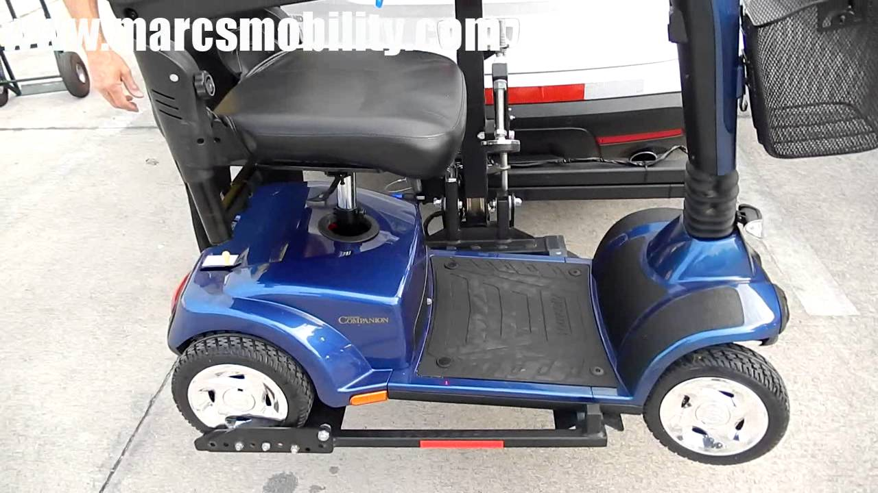 Harmar AL160 With Swing Away by Marc's Mobility