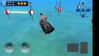 Jet Ski 3D Boat Parking Race Android Gameplay