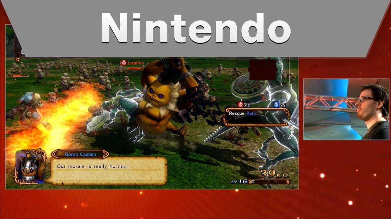 Nintendo Challenge: Live at SDCC - Hyrule Warriors