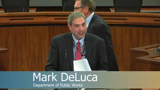 Ellicott City Watershed Master Plan Meeting -- October 25, 2018