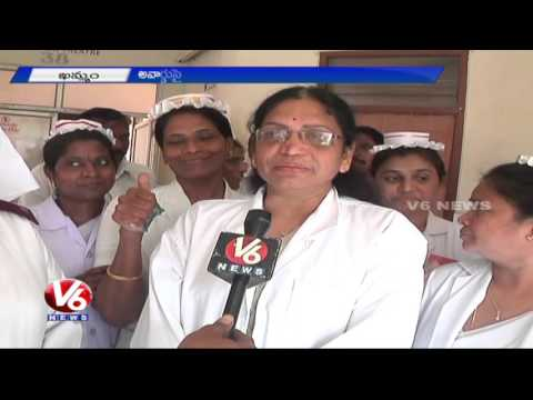 Khammam Government Hospital bags Kayakalp Award | Clean Hospital | V6 News