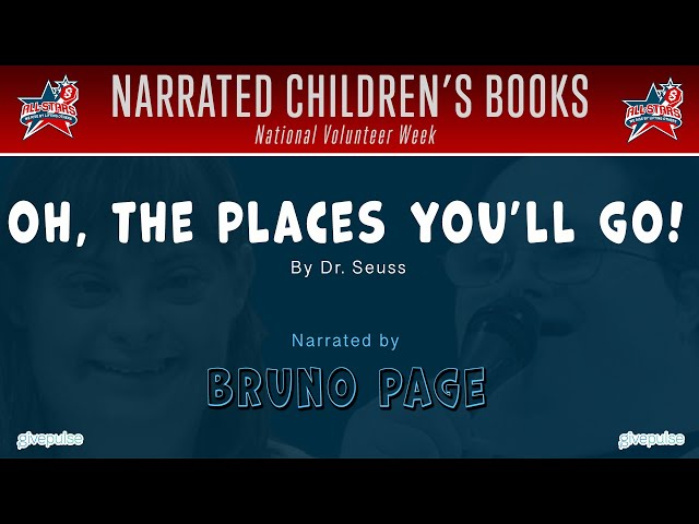 Oh, the Places You'll Go! narrated by Bruno Page