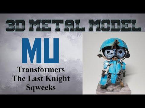 MU Build - Transformers The Last Knight Sqweeks