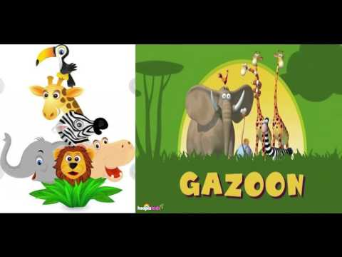 Funny Animals Cartoons Collection - Lighter Than Air - For Babies
