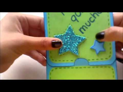 Tarjeta expr s f cil de hacer youtube - Como realizar tarjetas navidenas ...