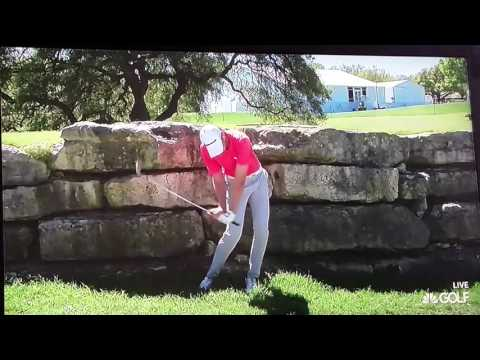 Daniel Berger whiff in slo-mo.